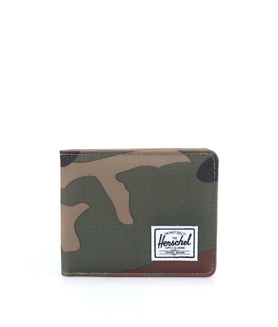 Maskáčová peněženka Herschel Hank