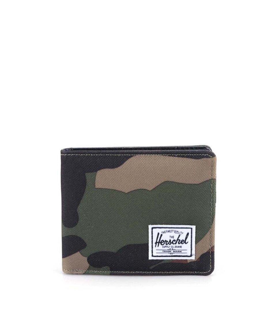 Maskáčová peněženka Herschel Hank Plus