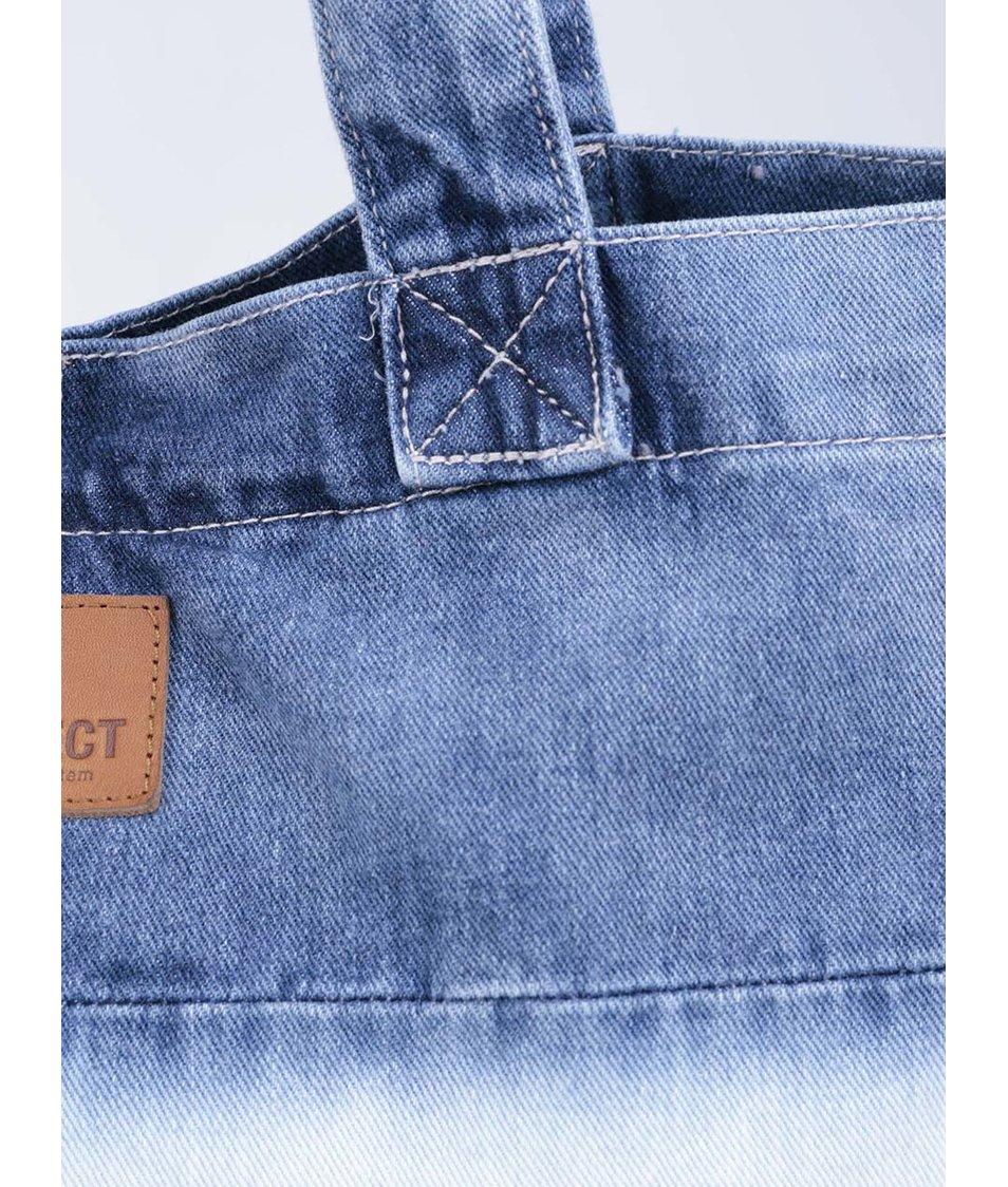 Denimová taška s ombré efektem Object Collectors Item Dip