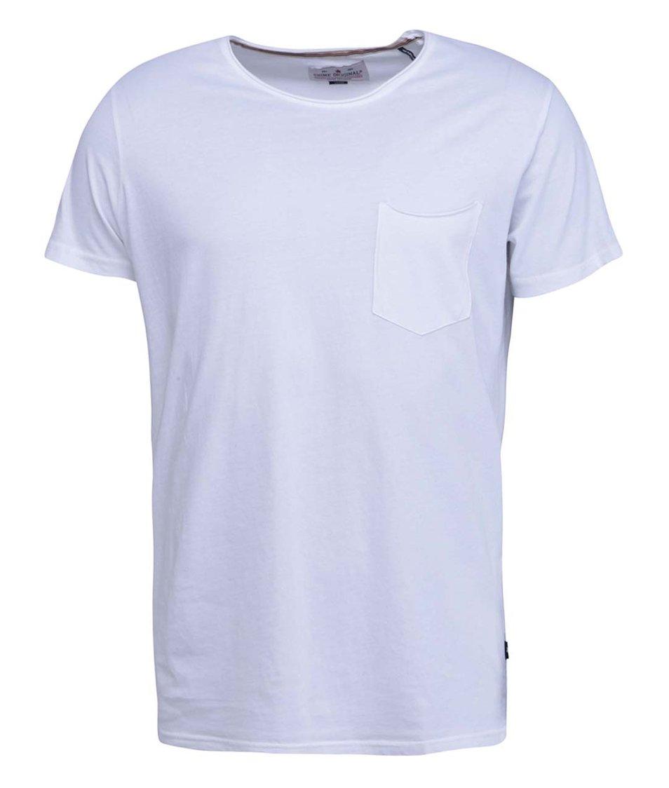 Bílé triko s kapsičkou Shine Original