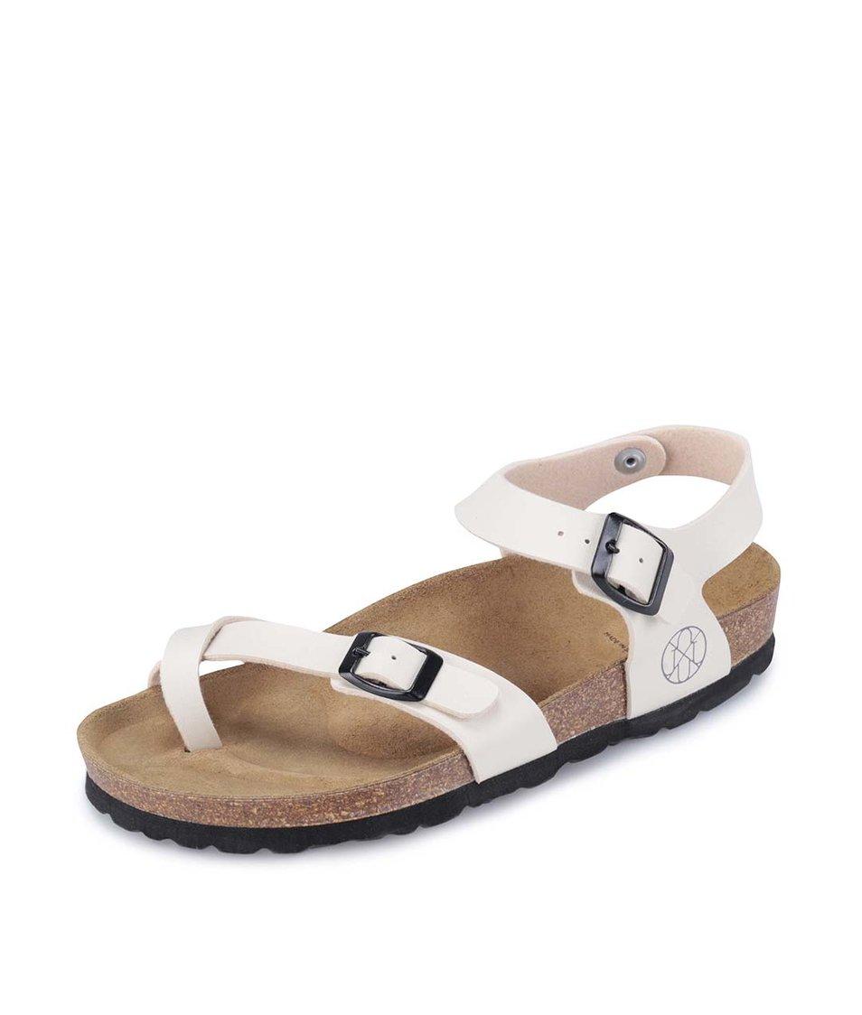 Krémové sandálky OJJU