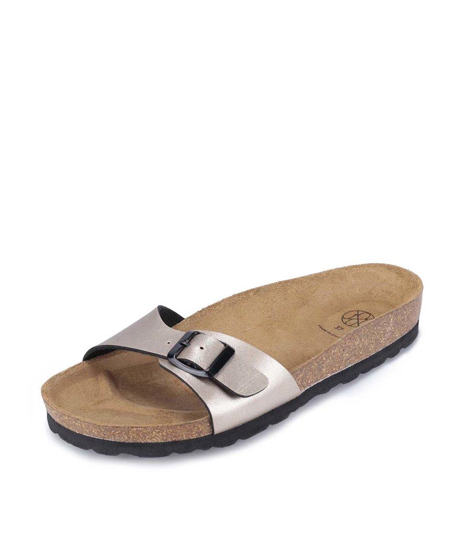 Bronzové pantofle OJJU
