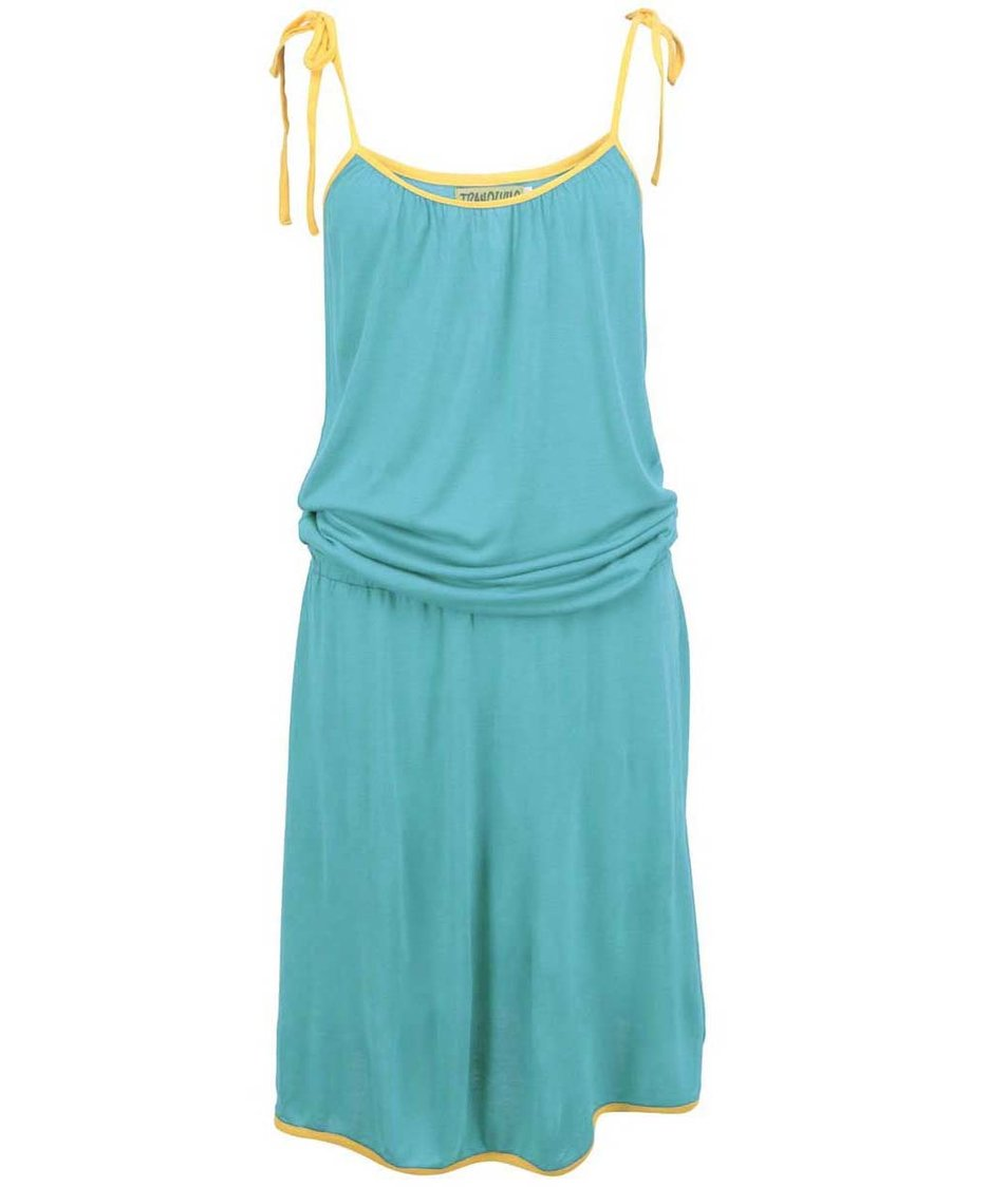 Tyrkysové šaty Tranquillo Papeete