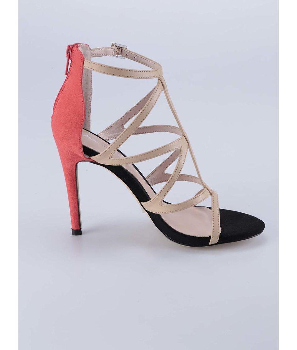 Tělové páskové sandály ALDO Sevelalla