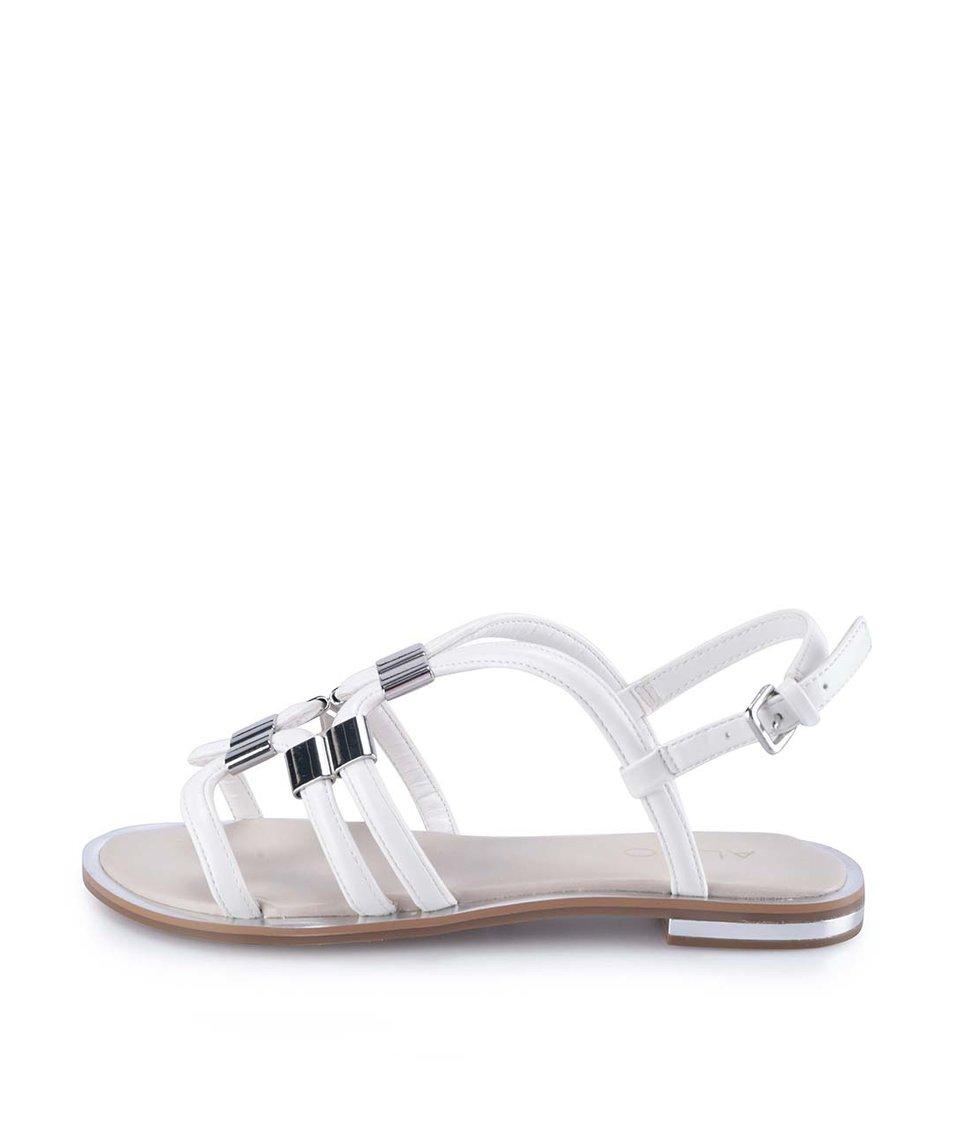 Bílé páskové sandály ALDO Reinelle