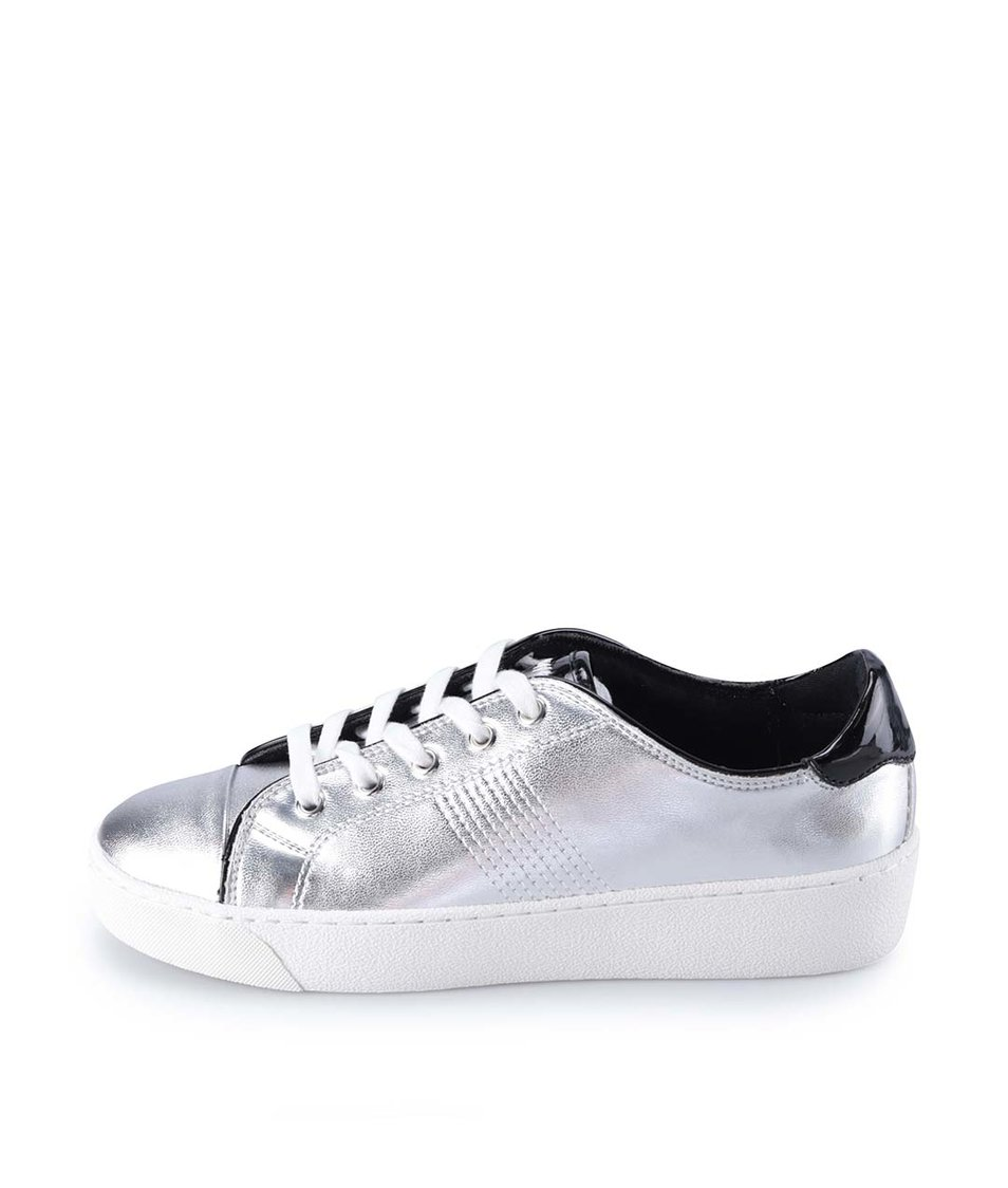 Stříbrné tenisky ALDO Cavanna