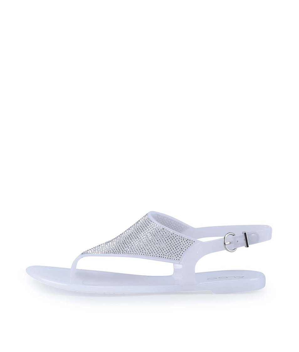 Bílé plastové sandály ALDO Venassa