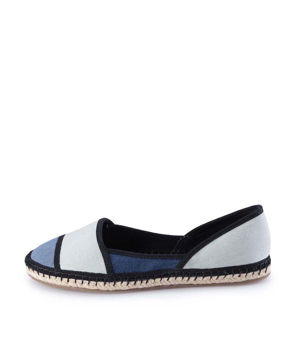 Modré plátěné boty ALDO Shulkin
