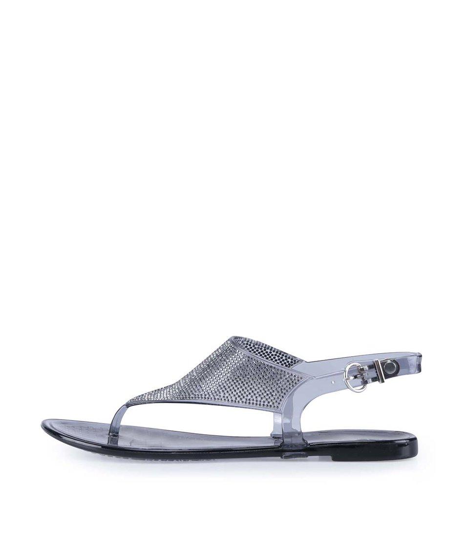 Šedé gumové sandálky ALDO Venassa