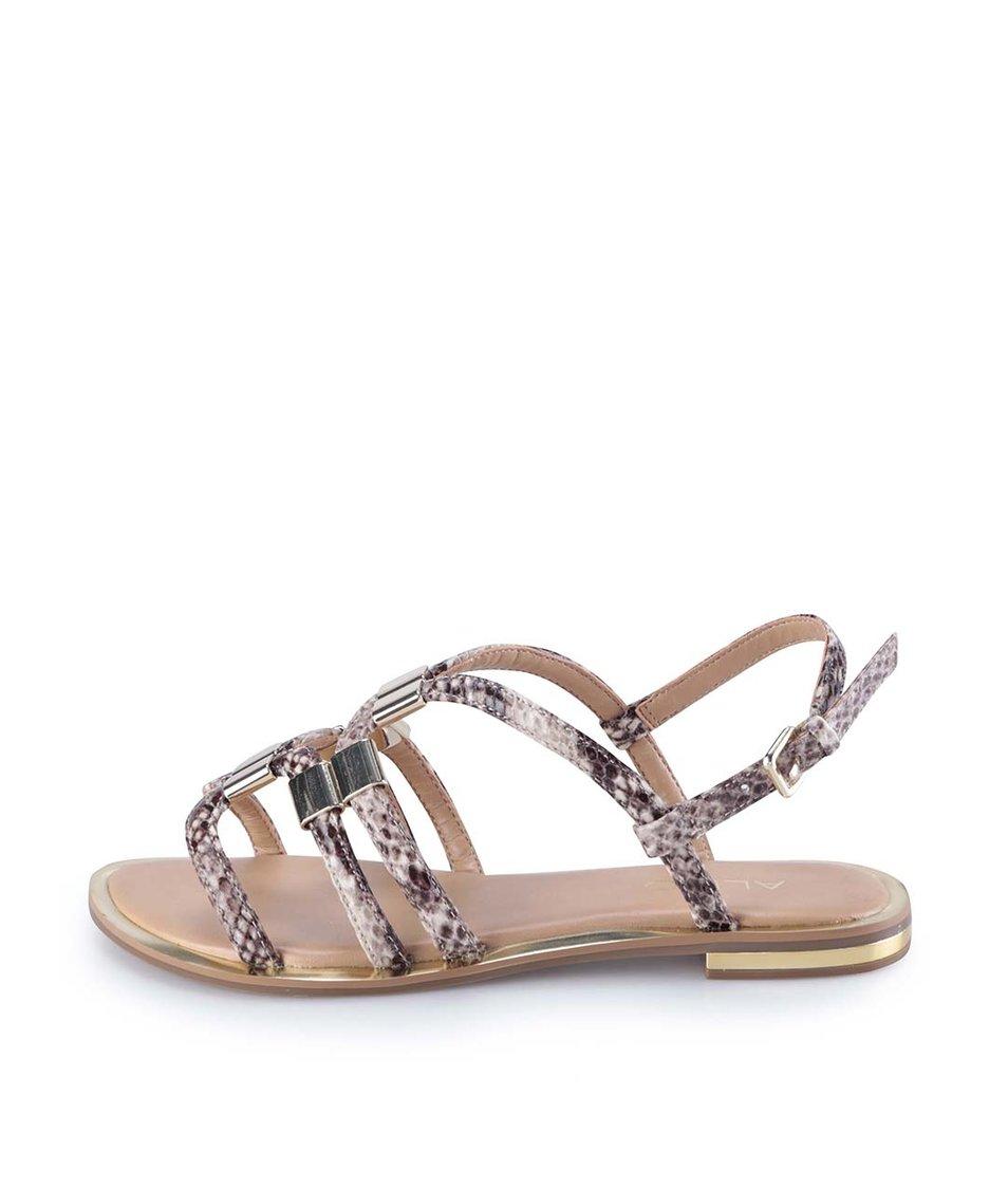 Hadí páskové sandály ALDO Reinelle