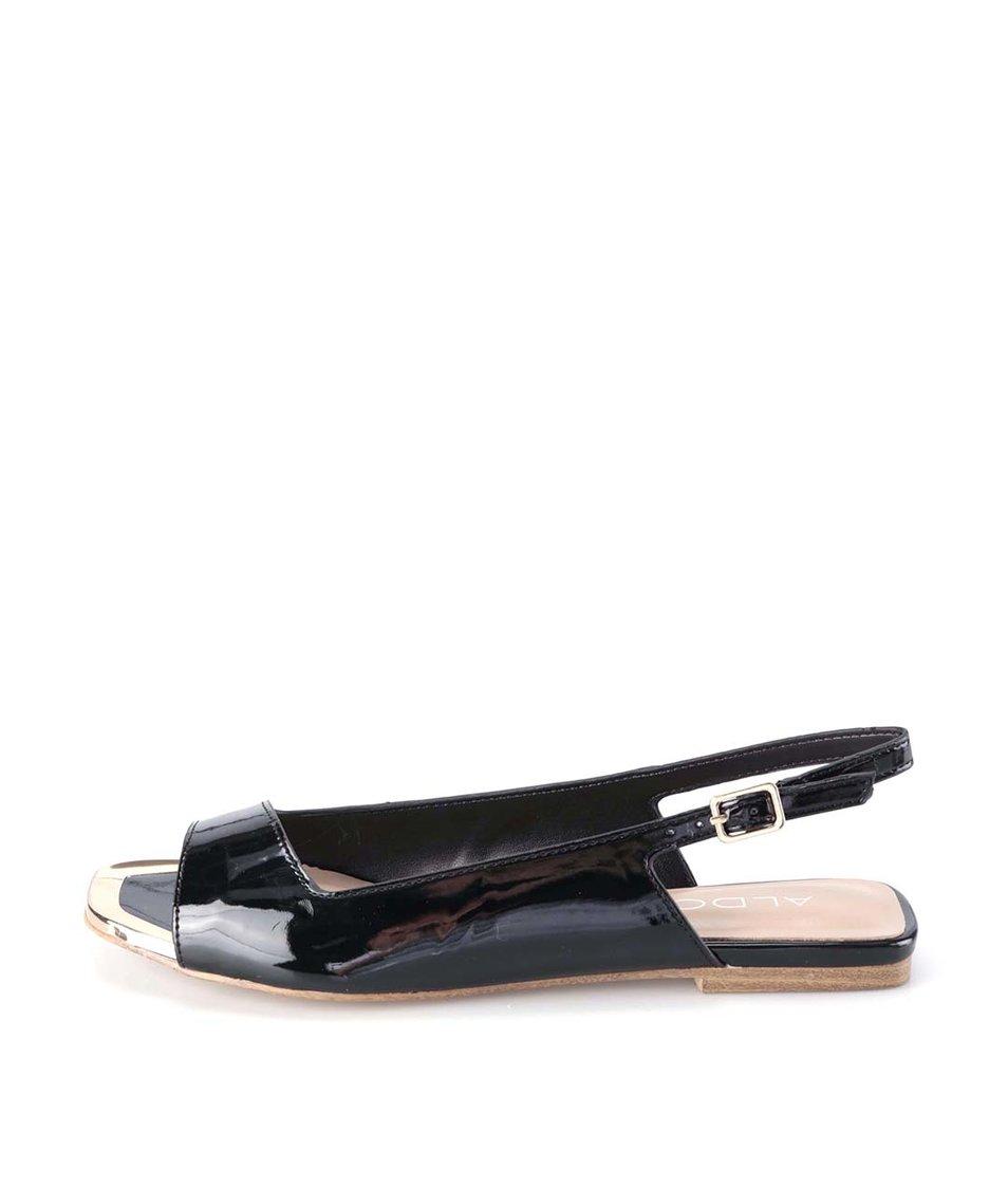 Černé retro sandály ALDO Piero