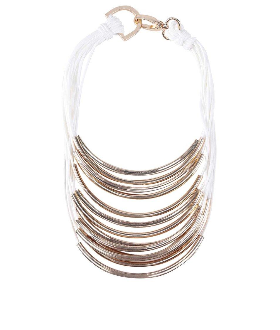 Bílo-zlatý náhrdelník ALDO Beraven