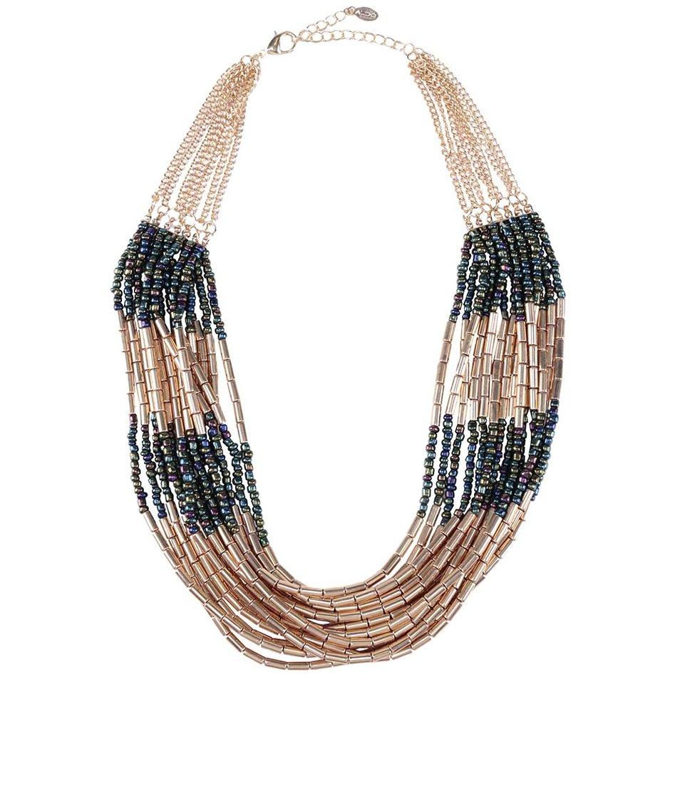 Masivní řetízkový náhrdelník ve zlaté barvě ALDO Gwerani