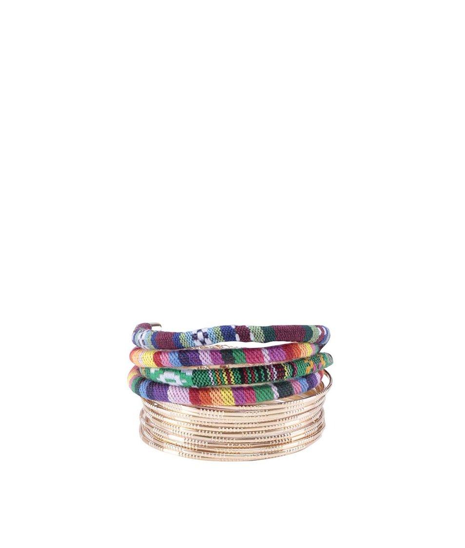 Sada šestnácti barevných náramků ALDO Froarwen