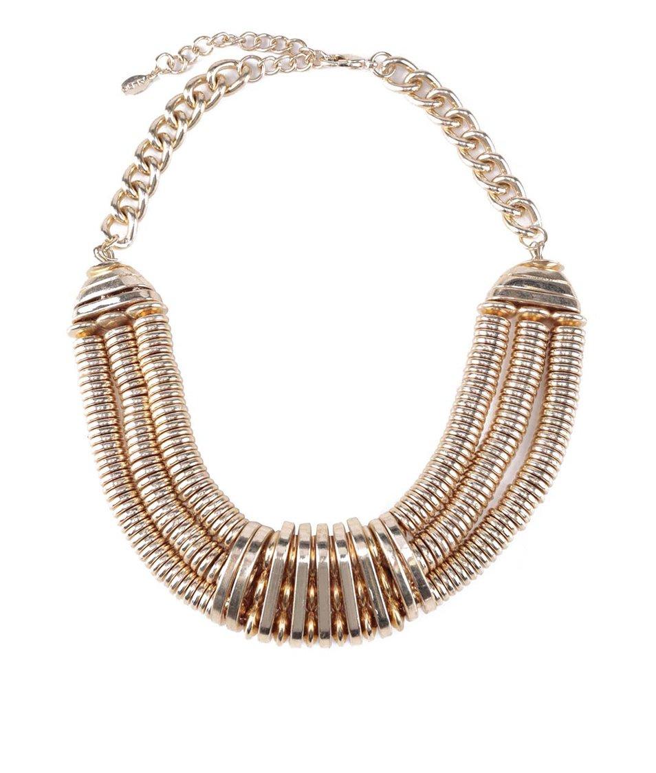 Masivní náhrdelník ve zlaté barvě ALDO Tolleri