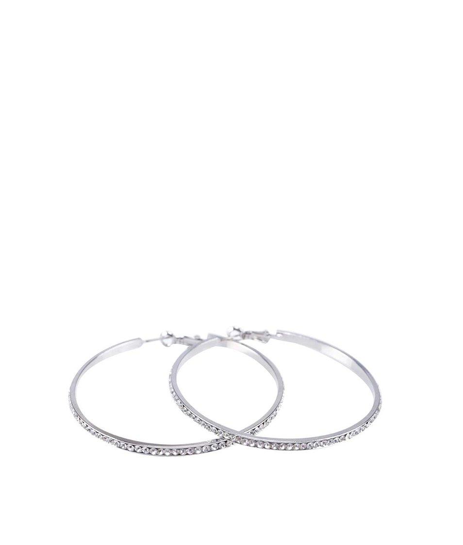 Kruhové náušnice ve stříbrné barvě ALDO Floemil