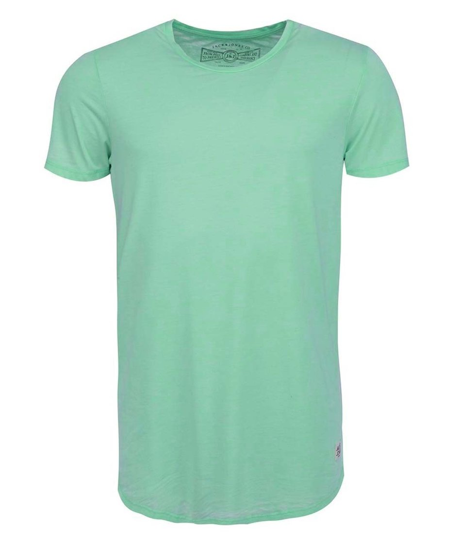 Zelené triko Jack & Jones Doco