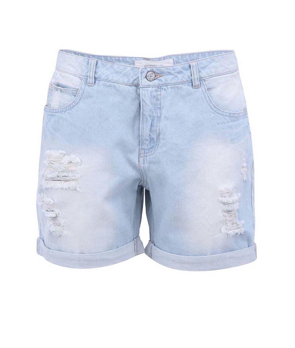 Světle modré džínové kraťasy Vero Moda Adele