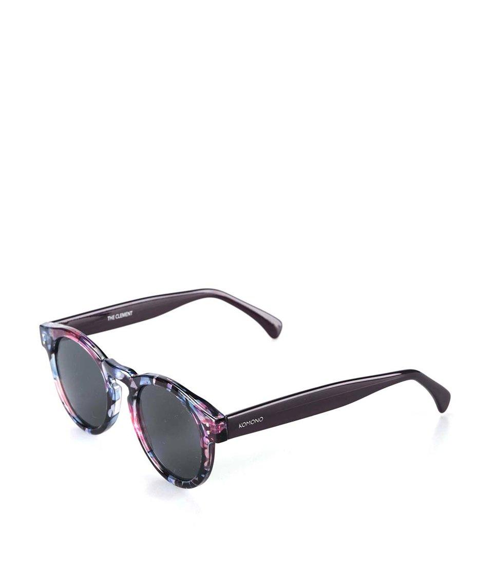 Barevné květované sluneční brýle Komono Clement