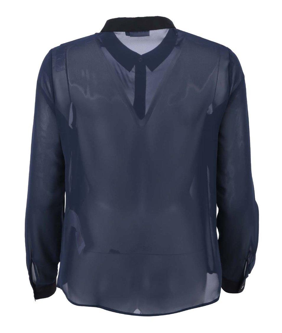 Tmavě modrá košile ONLY Sierra