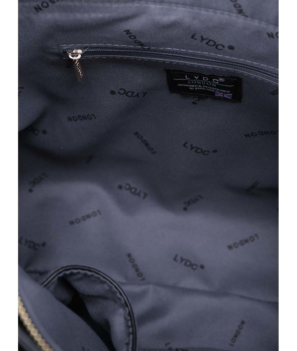 d2c3612371 Černá velká elegantní kabelka LYDC - Akční cena