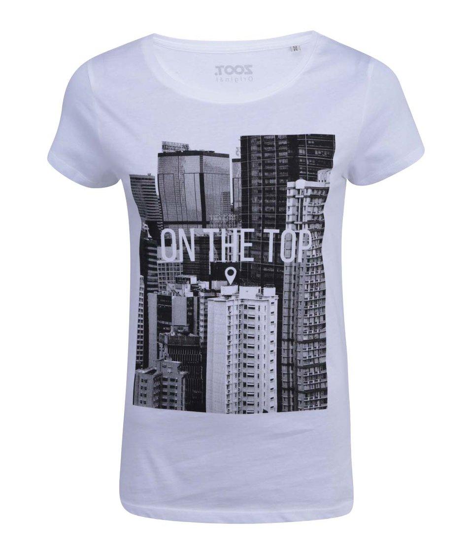 Bílé dámské tričko ZOOT Originál On the Top