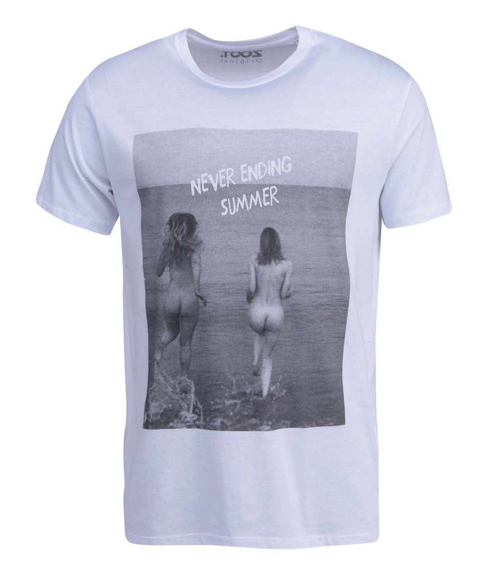 Bílé pánské triko ZOOT Originál Never Ending Summer
