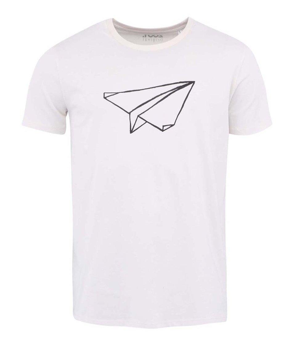 Krémové pánské triko ZOOT Originál Vlaštovka