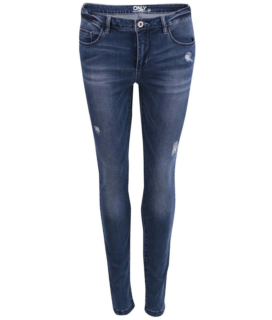 Tmavě modré skinny džíny ONLY Ultimate