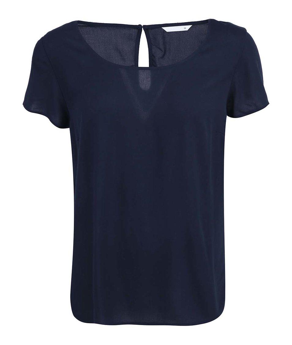 Tmavě modré volnější tričko ONLY Geggo