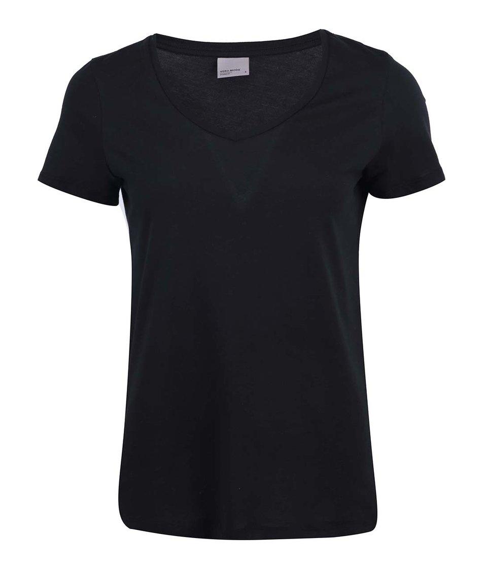 Černé tričko Vero Moda Molly