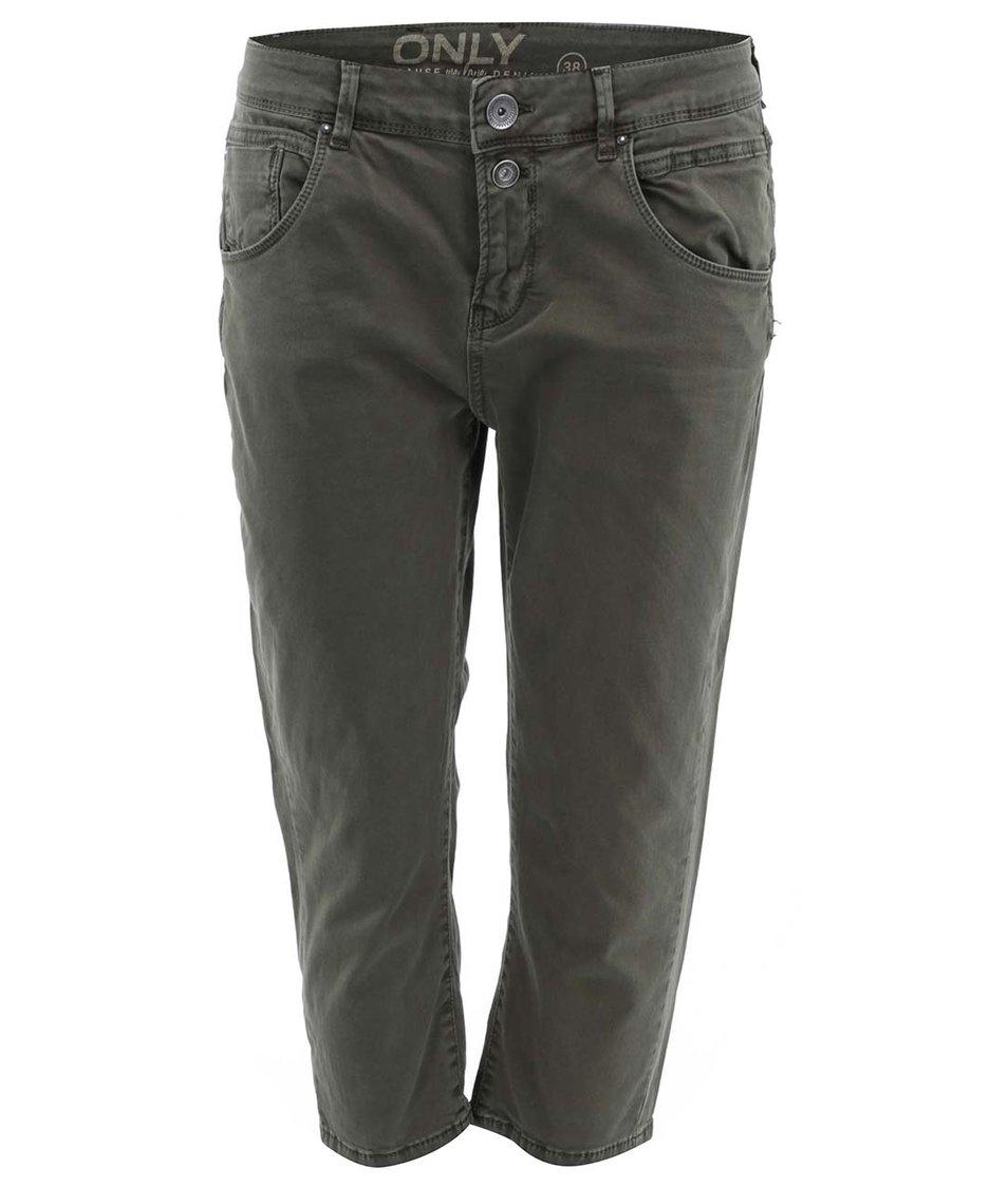 Khaki 3/4 kalhoty ONLY Lise