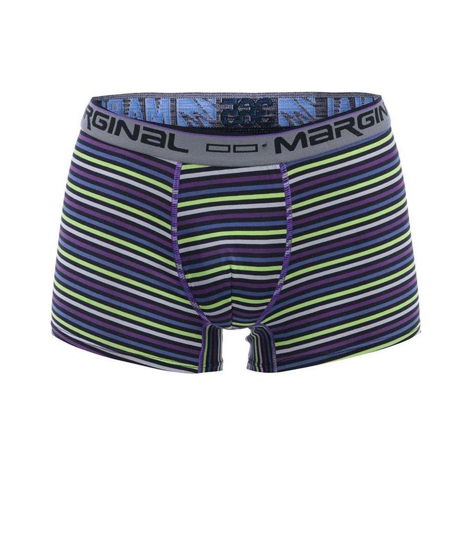 Barevné pruhované boxerky Marginal