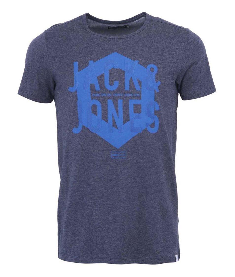 Tmavě modré triko Jack & Jones Cold