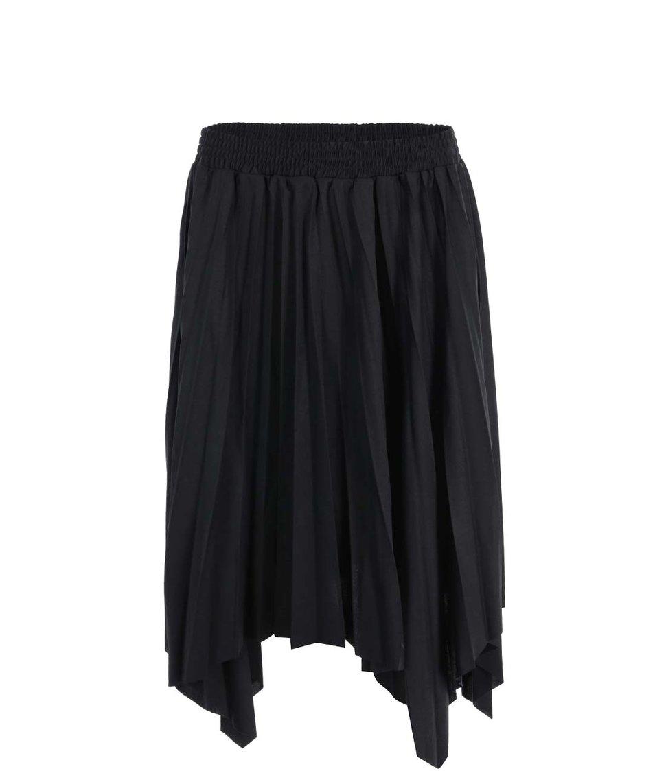 Černá plisovaná sukně Vero Moda Rossi