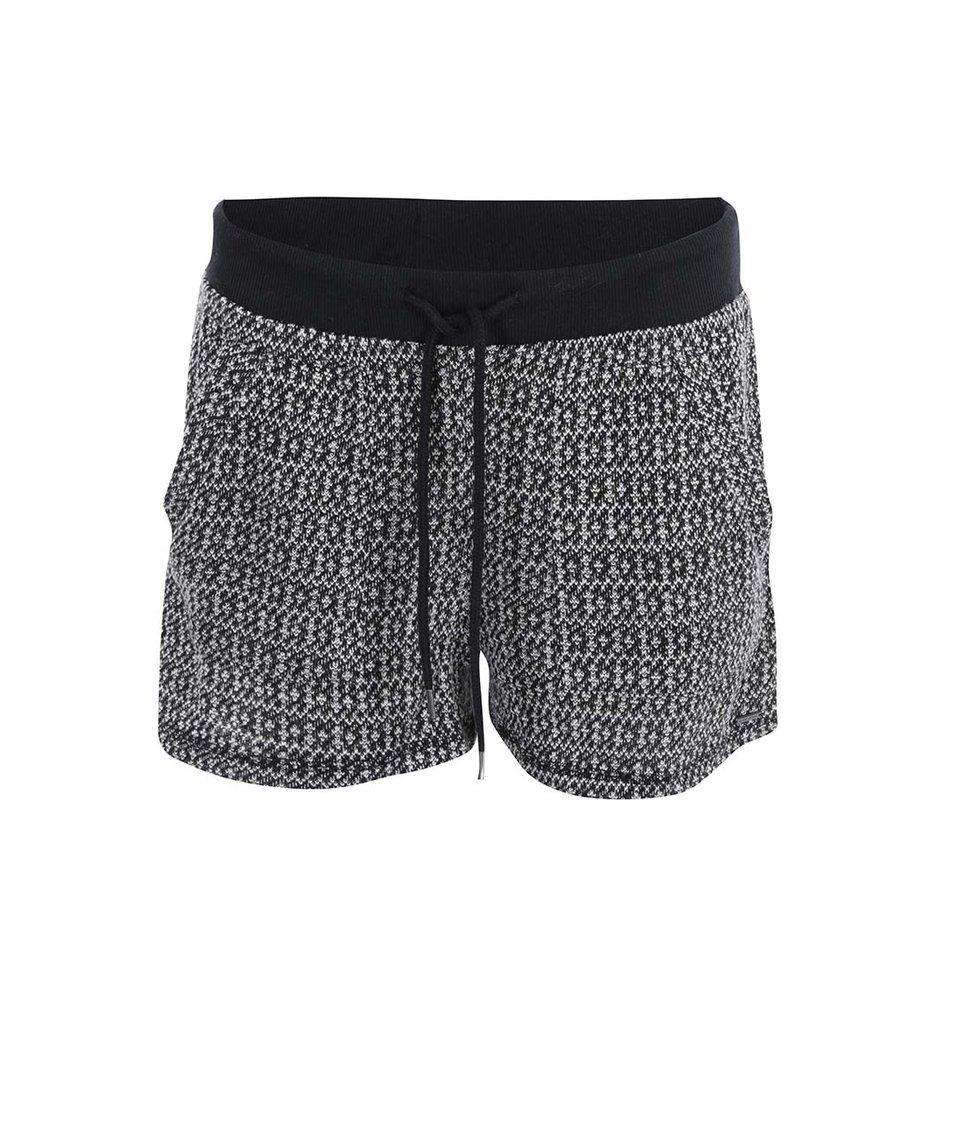 Černé teplákové kraťasy Vero Moda Ellen
