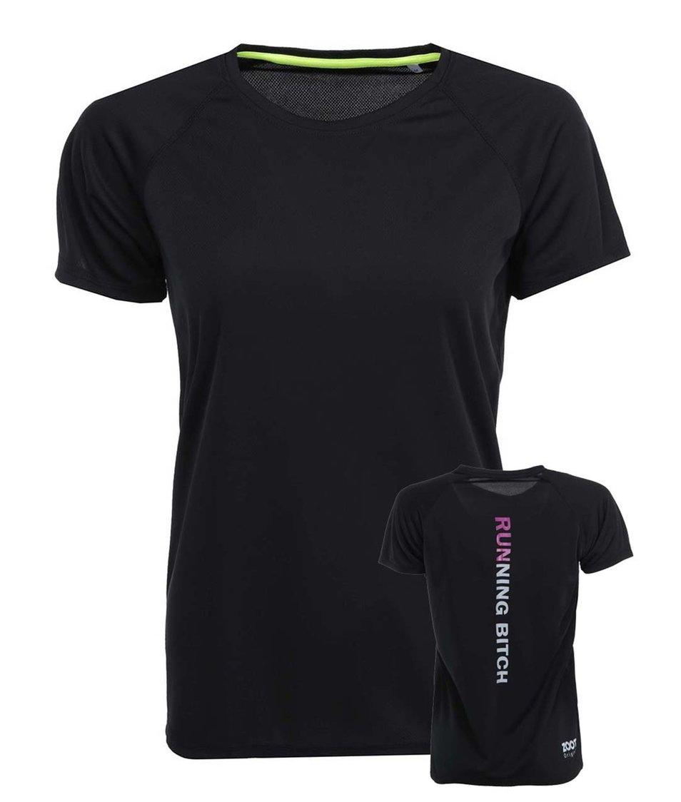 Černé dámské tričko ZOOT Originál Running Bitch