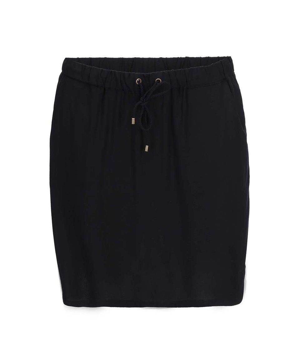 Černá viskózová sukně Vero Moda Easy