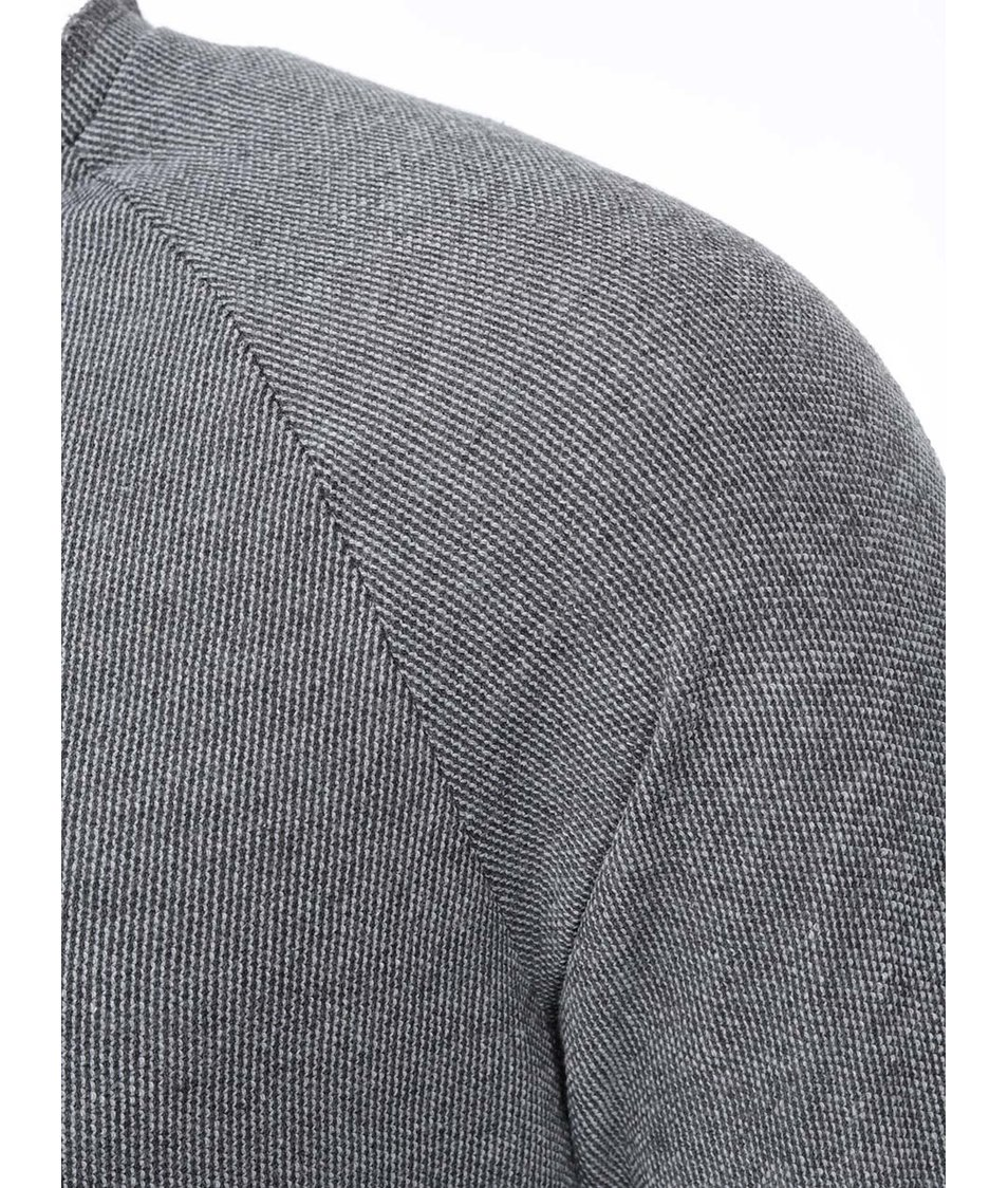 Šedý lehký svetr Selected Teal