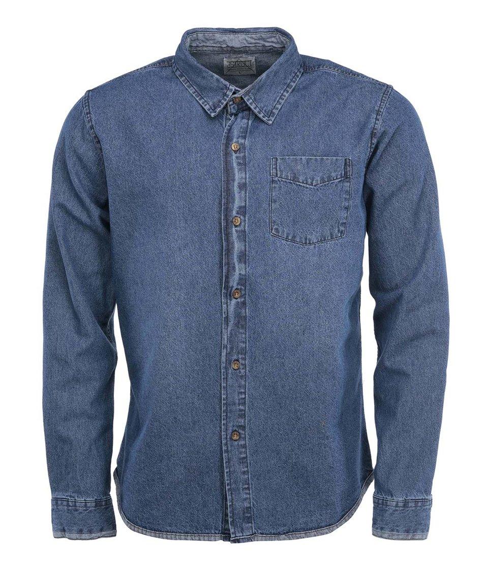 Modrá džínová košile D-Struct Hearne
