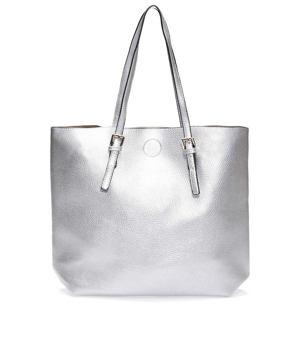 Stříbrná kabelka 2v1 Kris-Ana