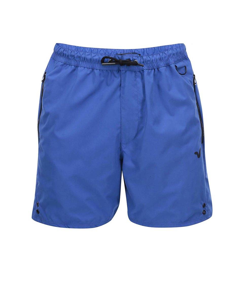 Modré pánské kraťasy Voi Jeans Bowman