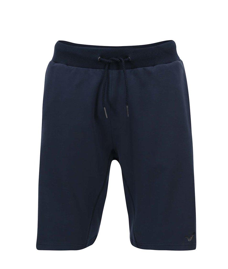 Modré pánské teplákové kraťasy Voi Jeans Froch