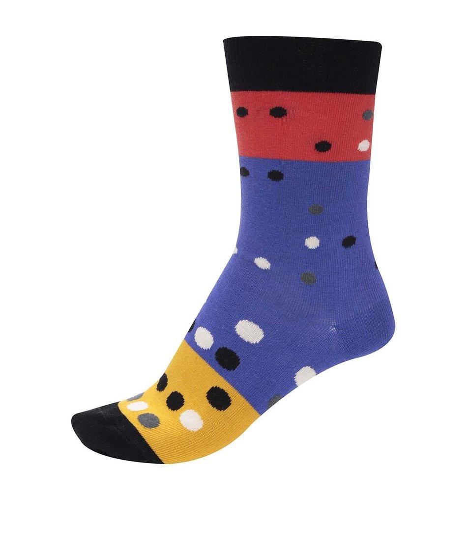 Barevné unisex ponožky s puntíky Ballonet Socks Party Day
