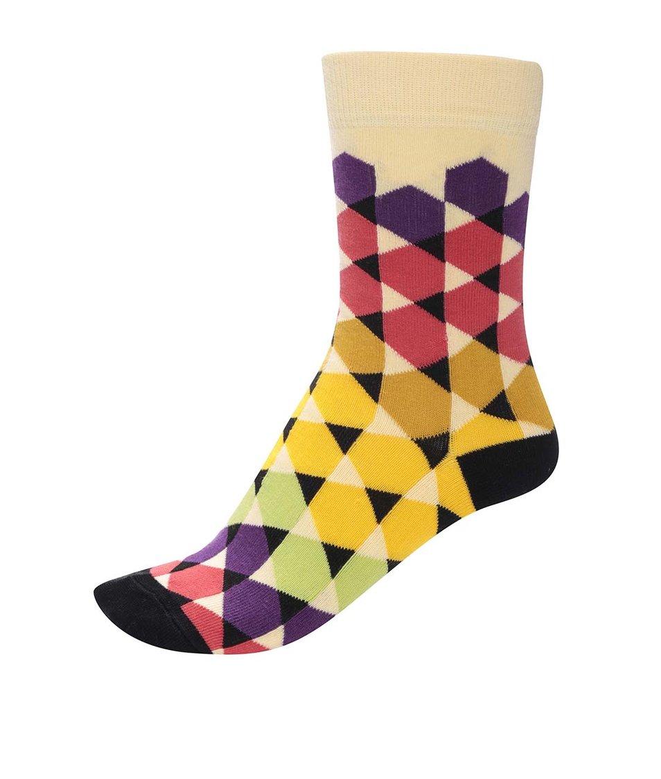 Barevné unisex ponožky se vzorem Ballonet Socks Play