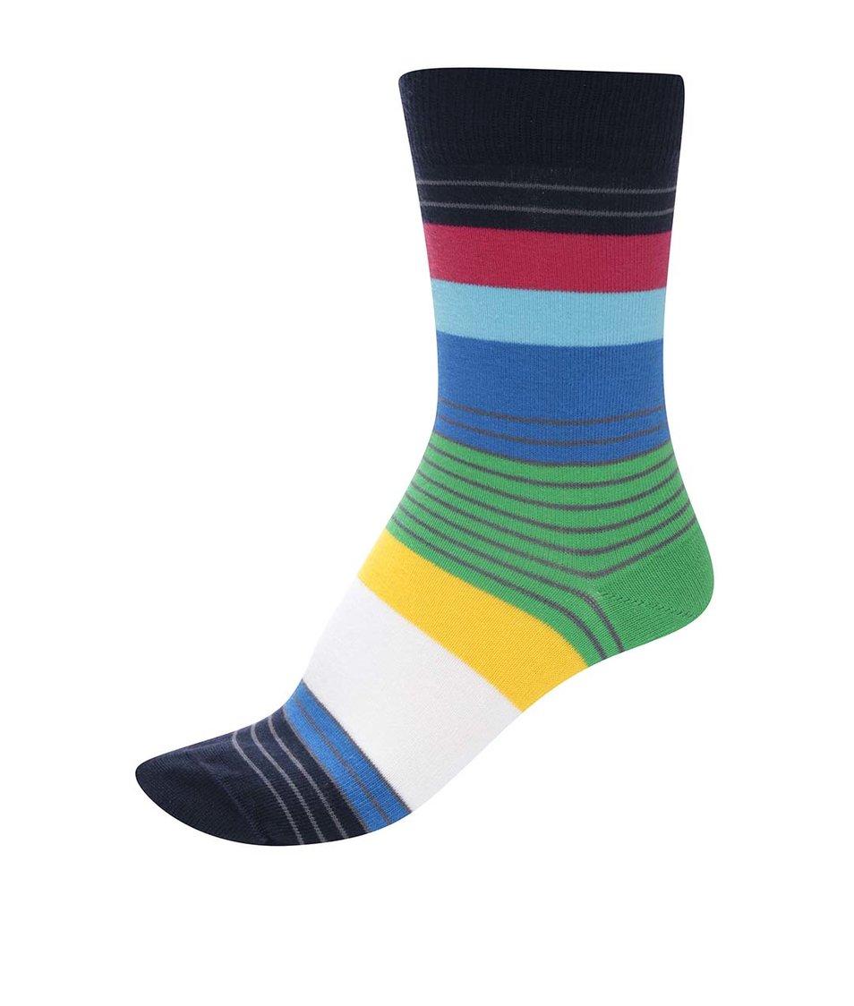 Barevné unisex ponožky s pruhy Ballonet Socks Spectrum