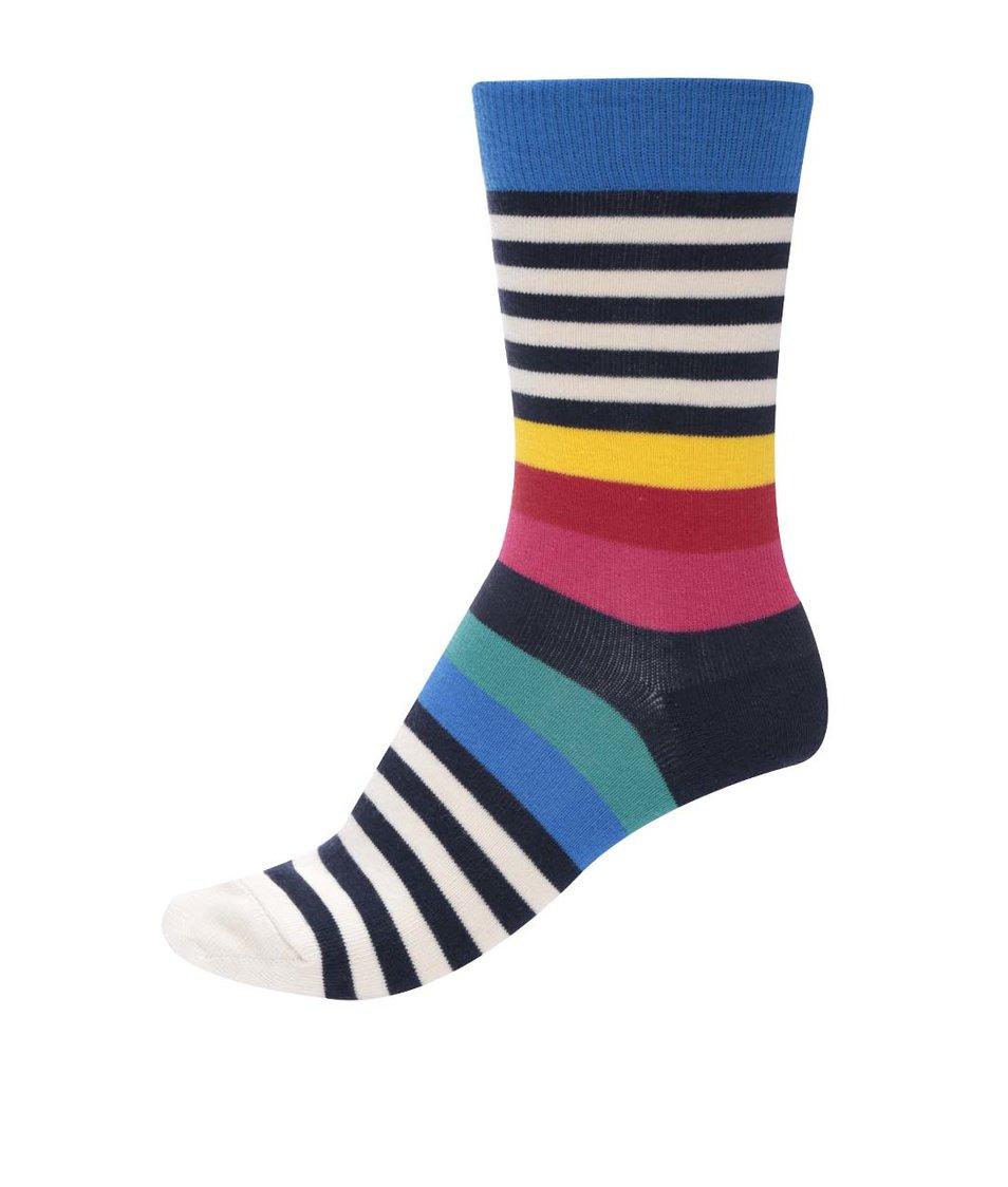 Barevné unisex ponožky s pruhy Ballonet Socks Rainbow