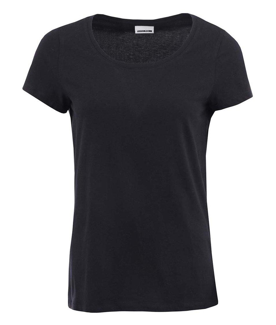 Černé tričko Noisy May Sail
