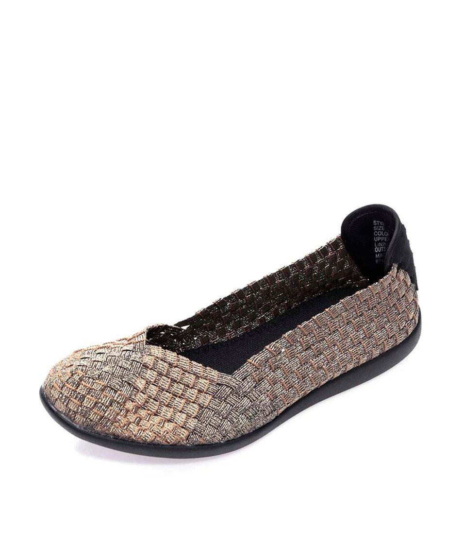 Loafers v bronzové barvě Steve Madden Criss