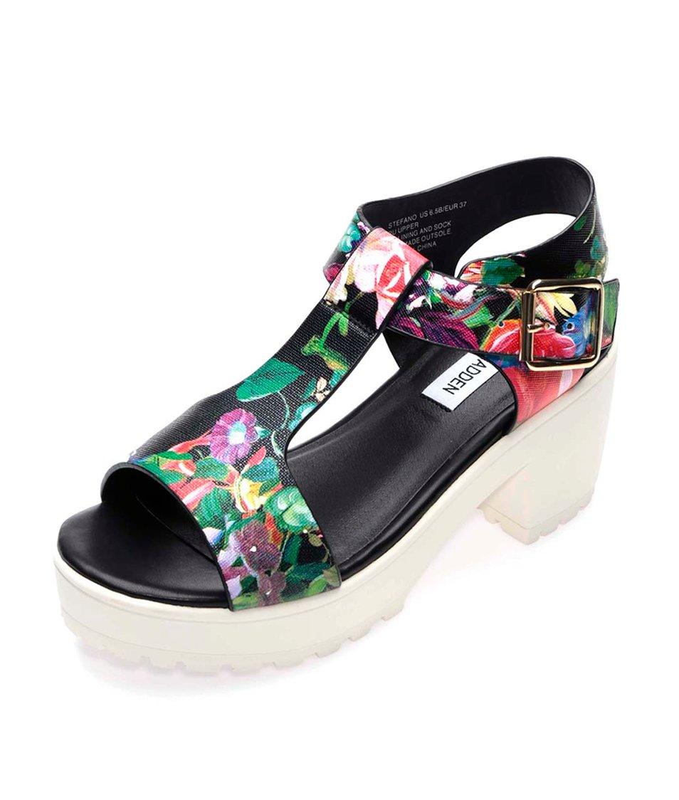 Květované sandály na platformě Steve Madden Stefano